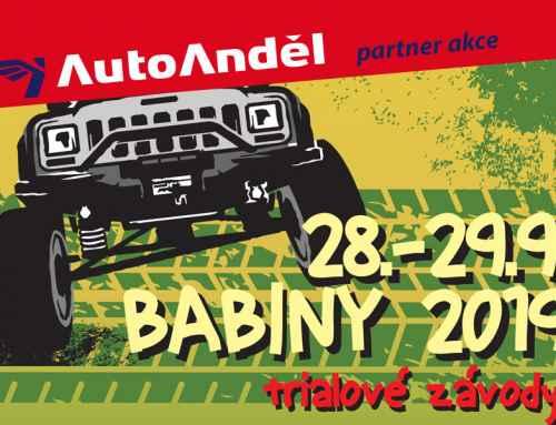BABINY 2019 trialové závody