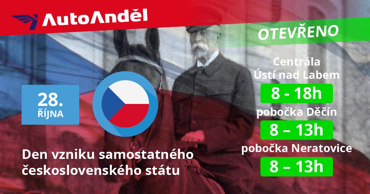 Den vzniku samostatného československého státu 1